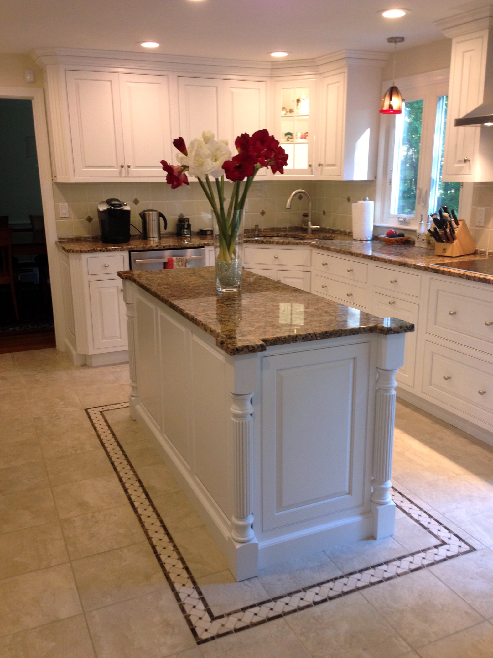 Image of: M F Goodwin Company Custom Kitchen Island