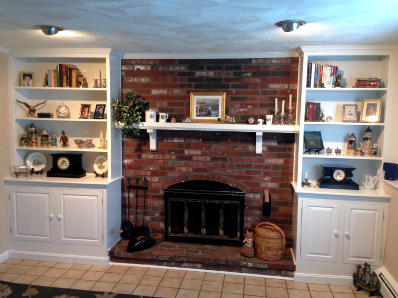 Fireplace Cabinetry Surround